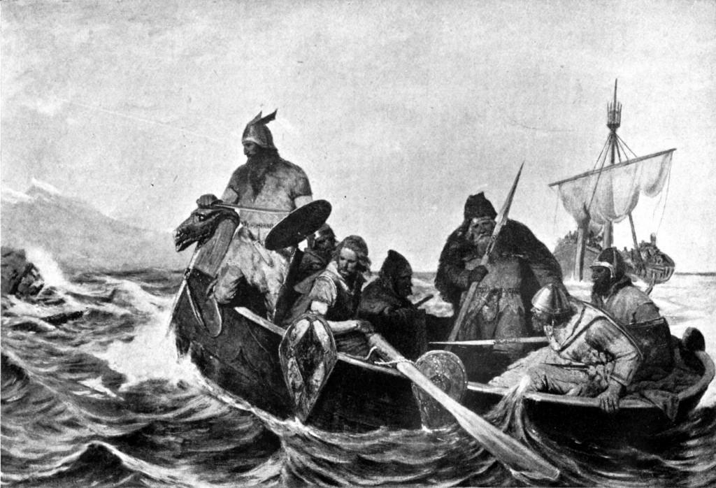 Norsemen_Landing_in_Iceland: wiki commons