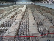 China unearths ruined palace near terracotta army