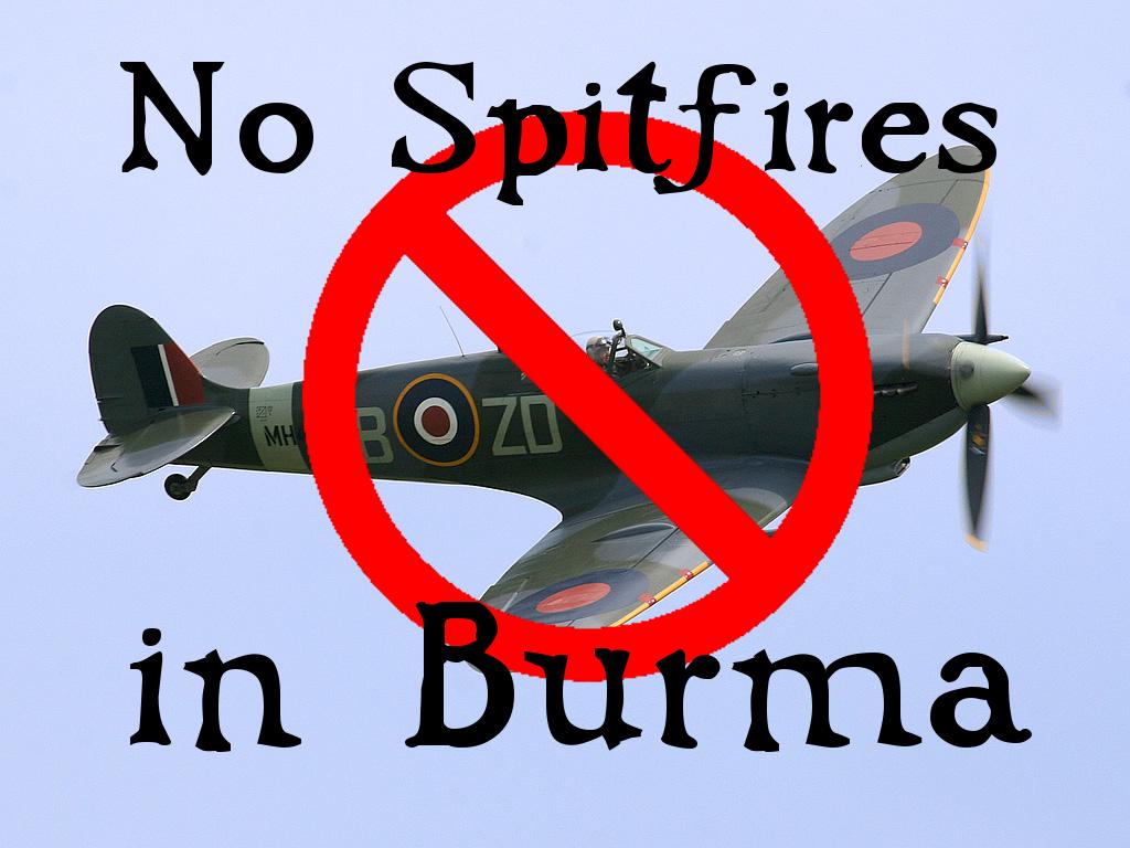 Burma Spitfire David Cundall