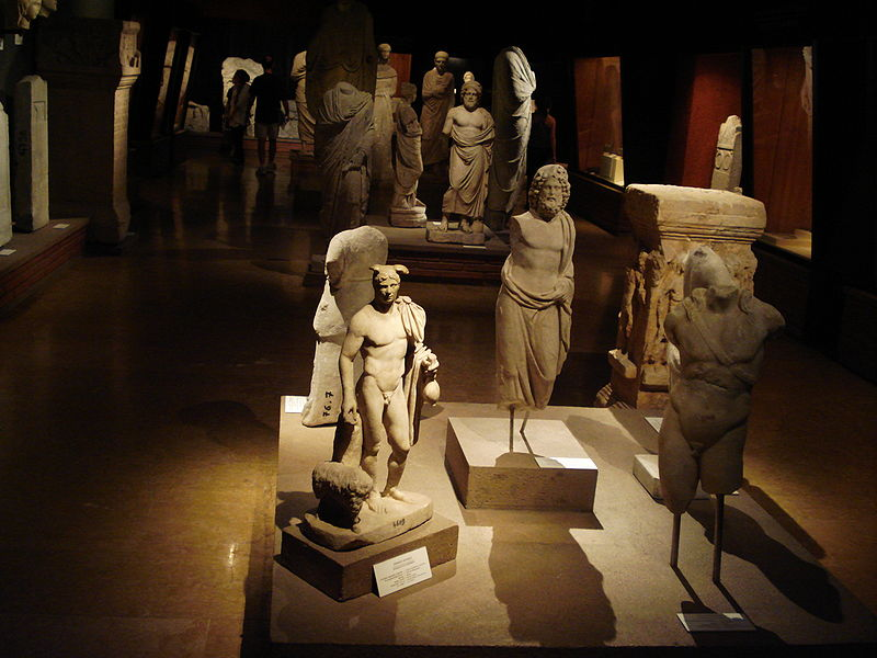 Instanbul Archaeology Museum, image source: Wikimedia Commons.