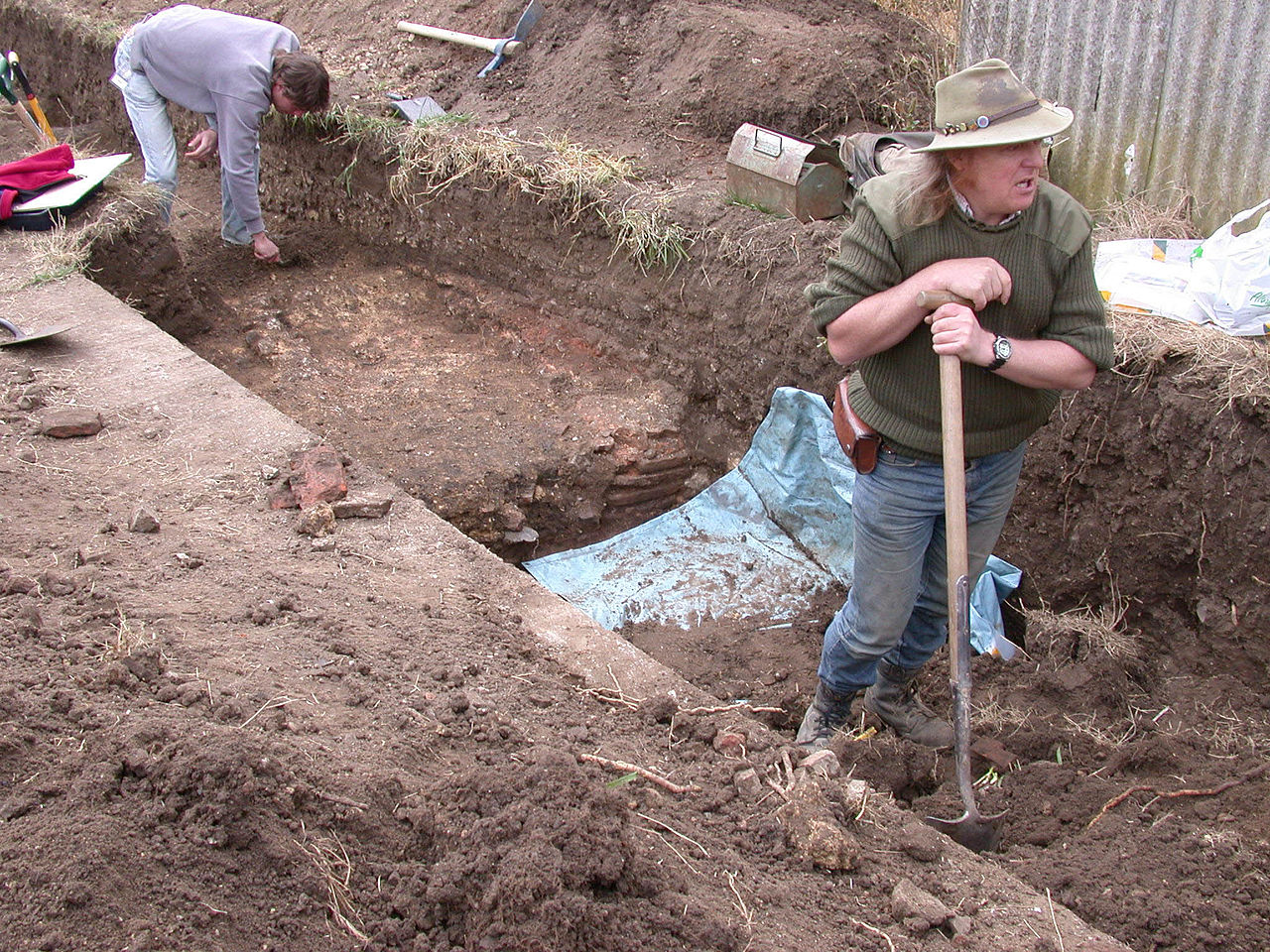 Phil Hard, 2013 Current Archaeologist 'Archaeologist of the Year' and stalwart of Time Team.