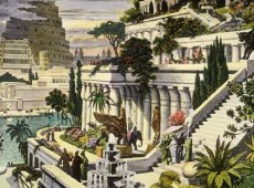 The Hanging Gardens of Babylon, Image Source: Wikimedia Commons.