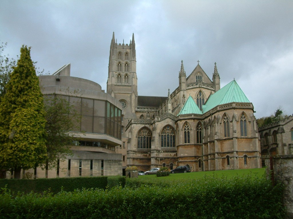 Downside Abbey is opening the doors on the UK's largest monastic library. Image Source: Wikimedia Commons