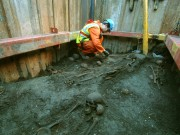 Crossrail digging unearths diverse and ancient London burial ground