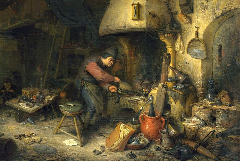 1024px-Adriaen_van_Ostade_-_Alchemist_-_WGA16738