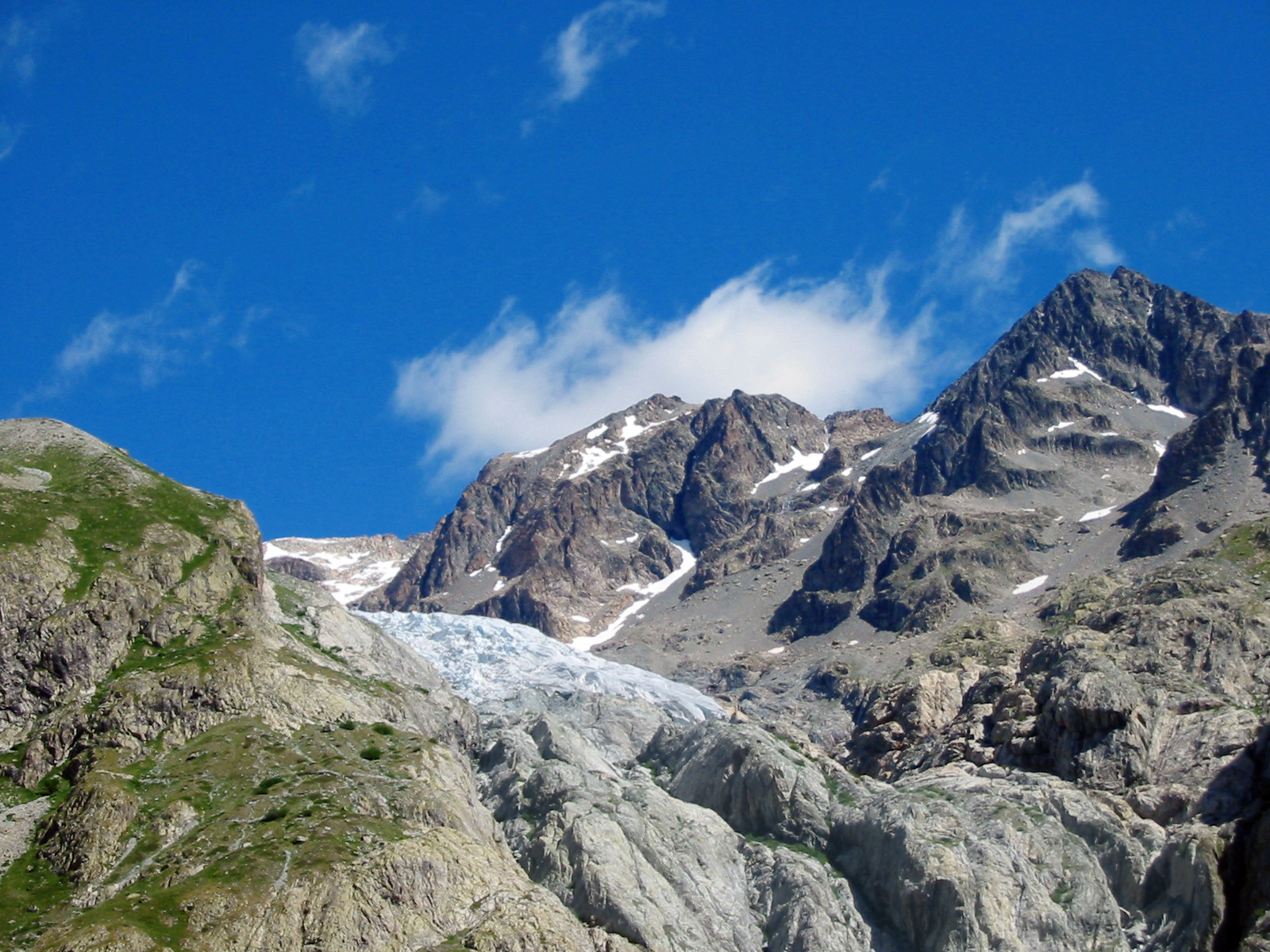 Alpine Glacier. Image Source: Wikimedia Commons.