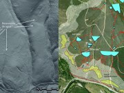 Laser from a plane discovers Roman goldmines in Spain