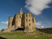 Visiting Warkworth Castle