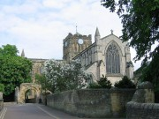 Hexham abbey gets the builders in again