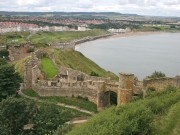 Vandals damage Roman stonework at Scarborough castle