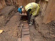 Shakespeare's Curtain theatre unearthed in east London
