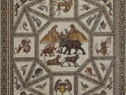 Renowned Ancient Roman Mosaic from Israel, on International Tour, Makes Final U.S. Stop at the Penn Museum