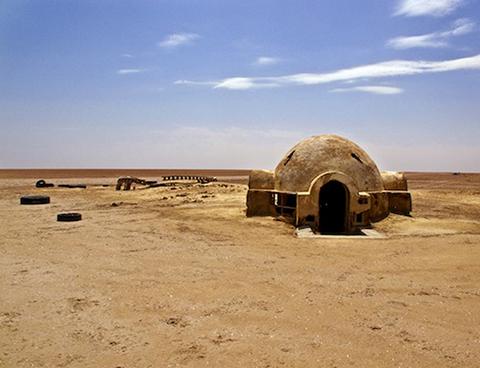The Lars Homestead igloo, home to Luke Skywalker. Image courtesy of Rä di Martino's