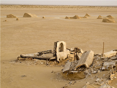 Are the ruins of a galaxy far away important in the real world of Tunisia? Image courtesy of Rä di Martino.