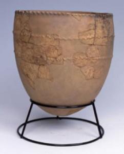An Incipient Jomon pot from Kubodera-minami, Niigata Prefecture, Japan ca. 15,000 years old Credit: Tokamchi City Museum