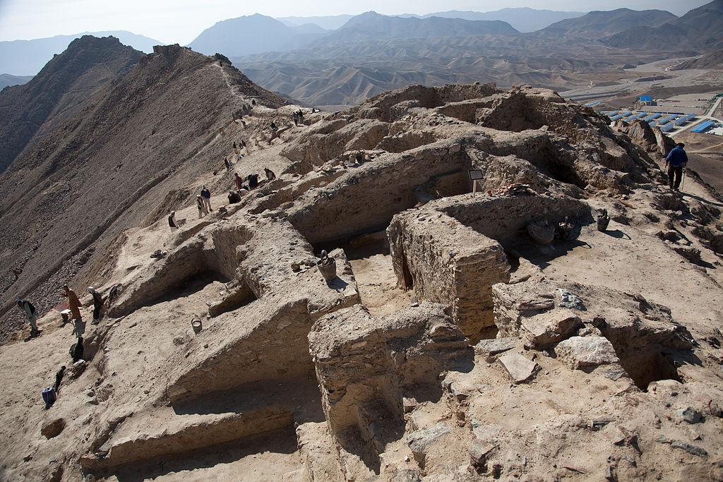 Mes Aynak: Image Source: Wikimedia Commons