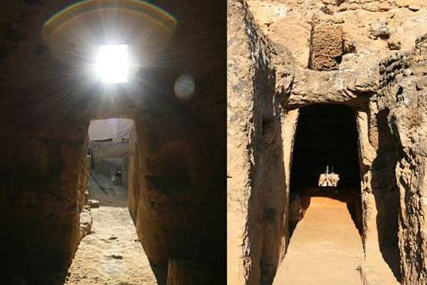 This is the interior of the Tomb of the Elephant. Image Courtesey of University Pablo Olavide.
