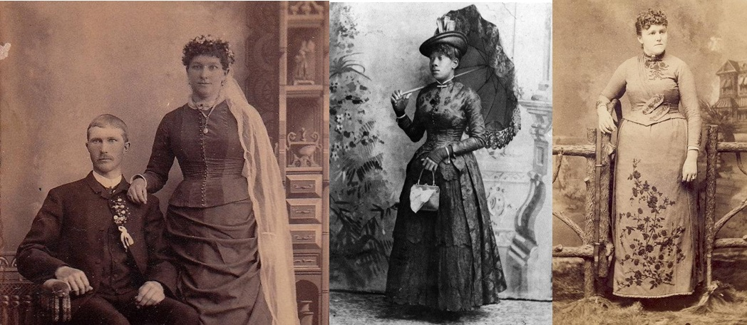 5. Ordinary women in the Sunday best.