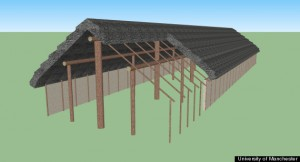 Reconstruction of the hall. Image Courtesy of University of Manchester.