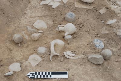 The destruction is dated around 1200 BC. Credit: Peter Fischer, University of Gothenburg