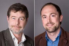 Prof. Dr. Engelbert Winter, Dr. Michael Blömer (v.l.) Foto: Julia Holtkötter