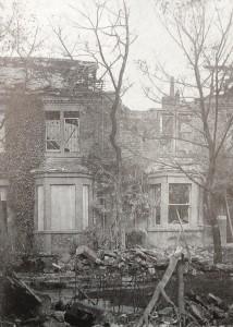 Zeppelin Bomb Damage, Whitley Bay. Image Source: TWAM