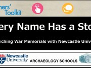 Every Name Has a Story: Researching War Memorials with Newcastle University