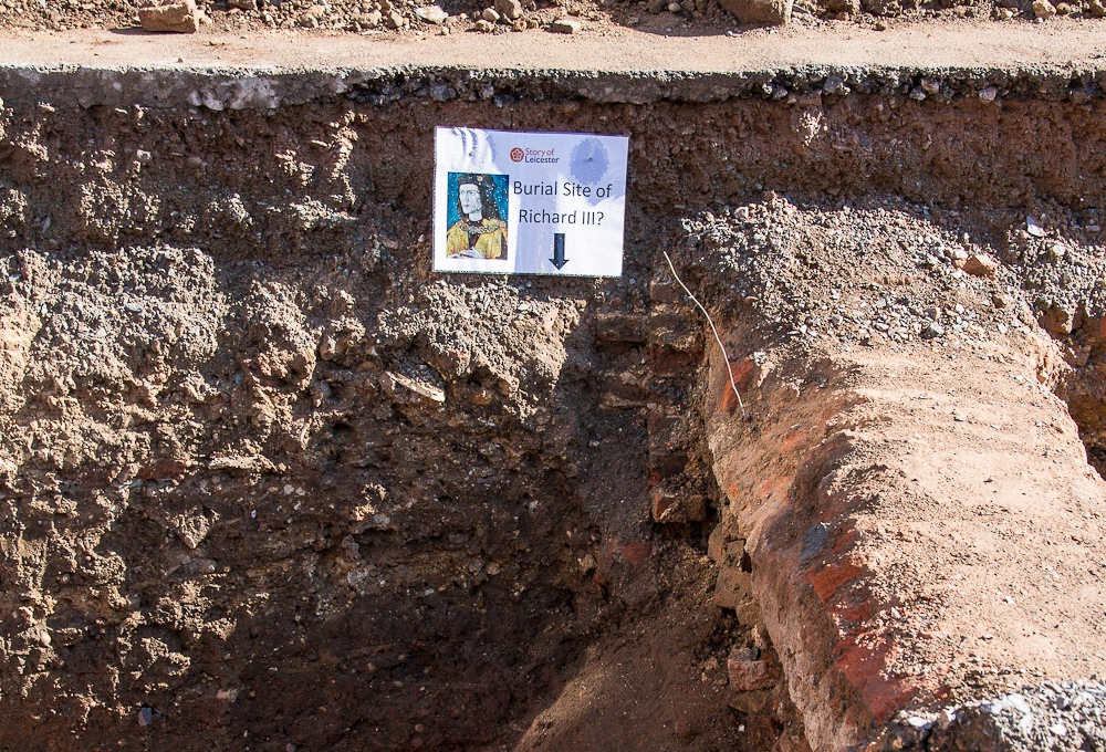Burial Site of Richard III? Image Source: Wikimedia Commons.