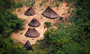 A Nanti Village: Image Courtesy of the Guardian