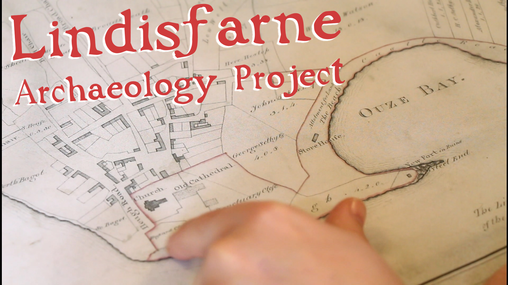 Holy Island Archaeology Project: Marvellous Maps